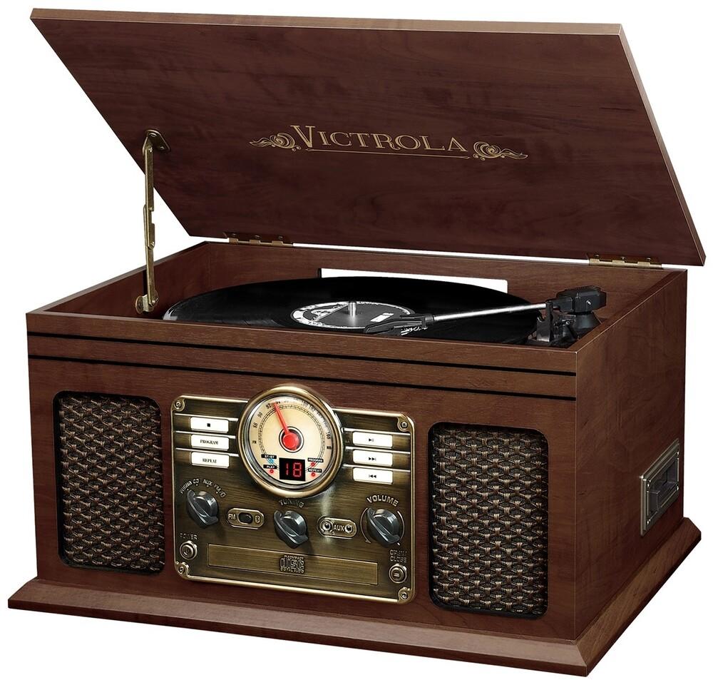 Victrola Vta200Besp Classic 6/1 Ent Ctr Bt Esprs - Victrola Vta200besp Classic 6/1 Ent Ctr Bt Esprs