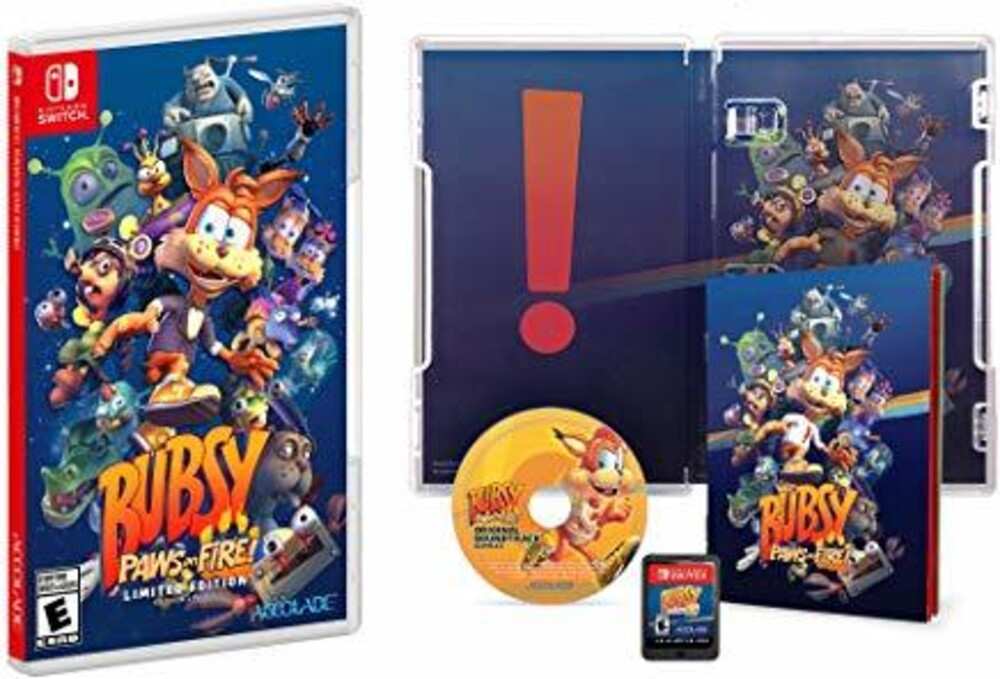 Swi Bubsy: Paws on Fire! Limited Ed - Bubsy: Paws On Fire! Limited Ed