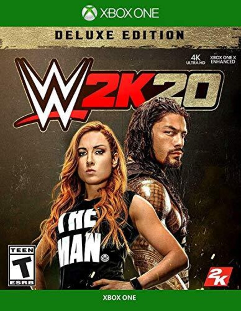 - WWE 2K20 Deluxe Edition for Xbox One