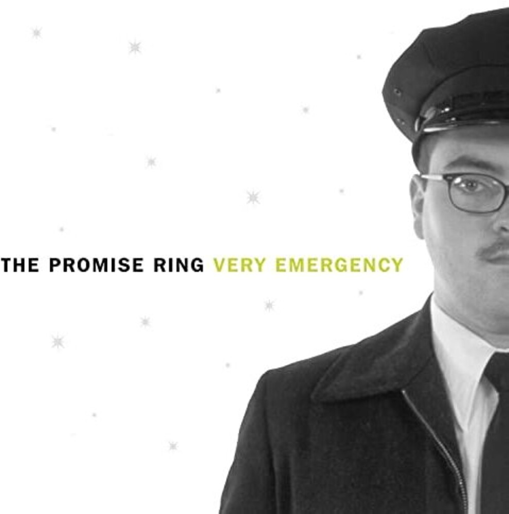 The Promise Ring - Very Emergency [Indie Exclusive Limited Edition Clear LP]