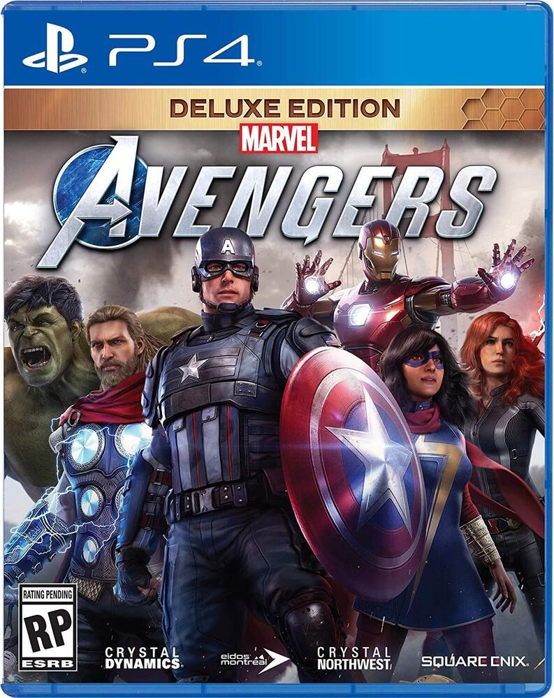 Ps4 Marvel's Avengers Deluxe Edition - Marvel's Avengers Deluxe Edition for PlayStation 4