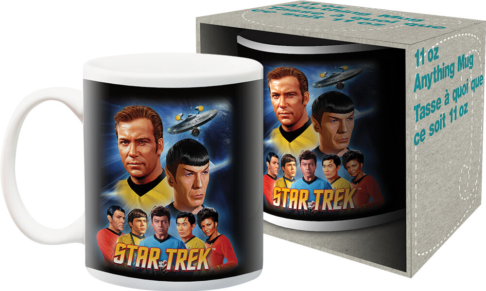 Star Trek Original TV Series Team 11Oz Mug Boxed - Star Trek Original TV Series Team 11oz Mug Boxed