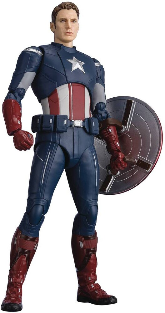 Tamashii Nations - S.H.Figuarts Captain America - CAP VS. CAP EDITION - (Avengers: Endgame)