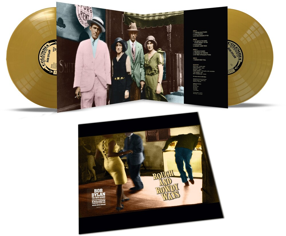 Bob Dylan - Rough And Rowdy Ways [Indie Exclusive Limited Edition Gold 2LP]
