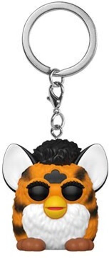 - FUNKO POP! KEYCHAIN: Hasbro- Tiger Furby