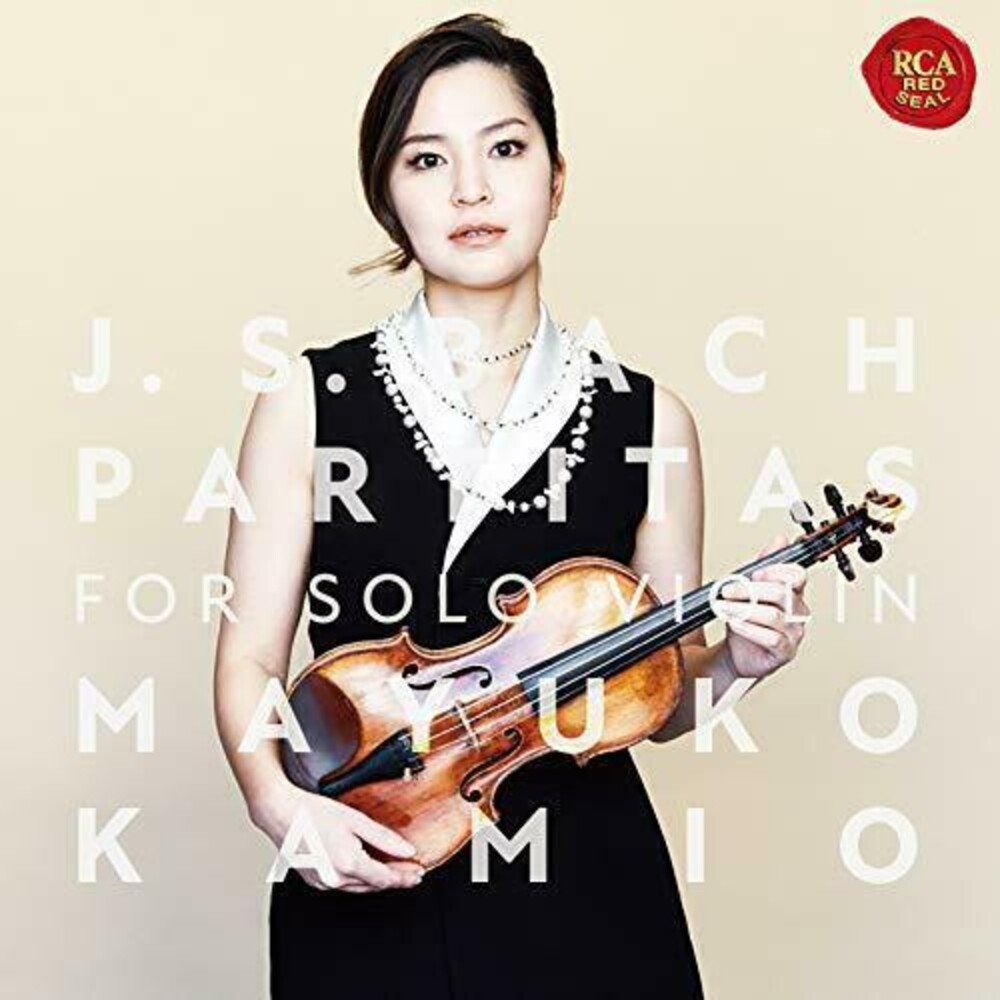 Bach / Mayuko Kamio - Bach: Partitas For Solo Violin (Blus) (Hybr) (Jpn)