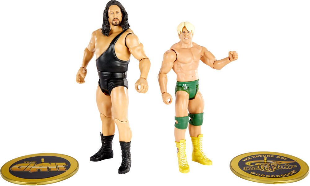 WWE - Mattel Collectible - WWE Basic Figure 2-Pack Ric Flair vs. The Giant