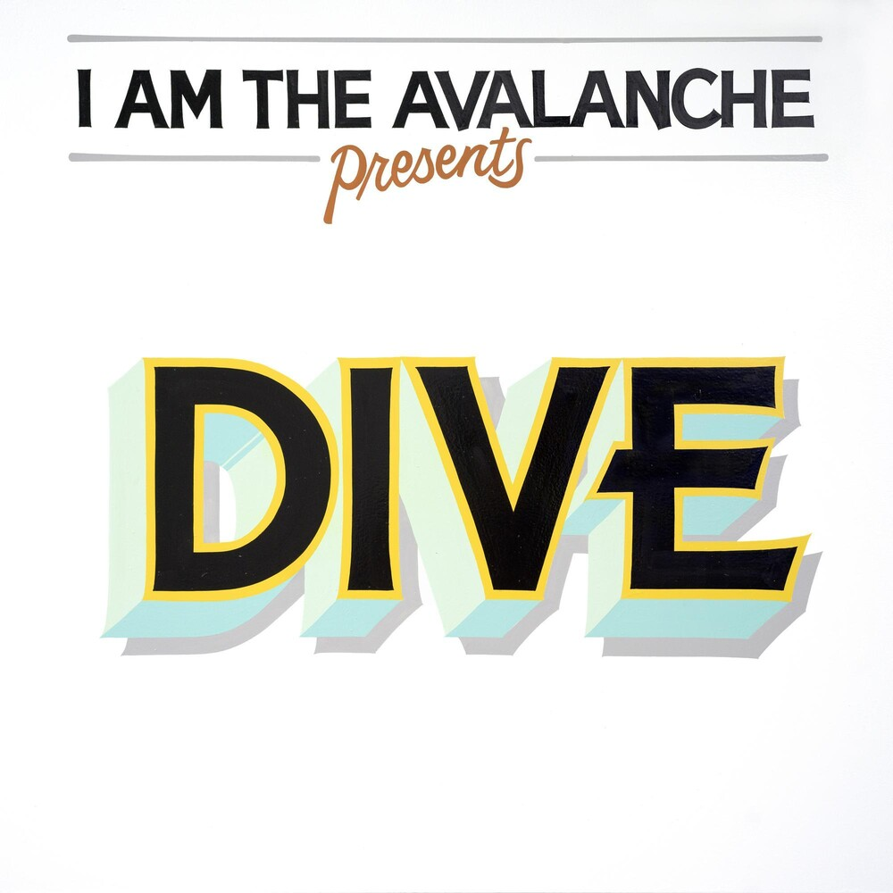 I Am The Avalanche - Dive [Opaque Red with Yellow Swirl LP]