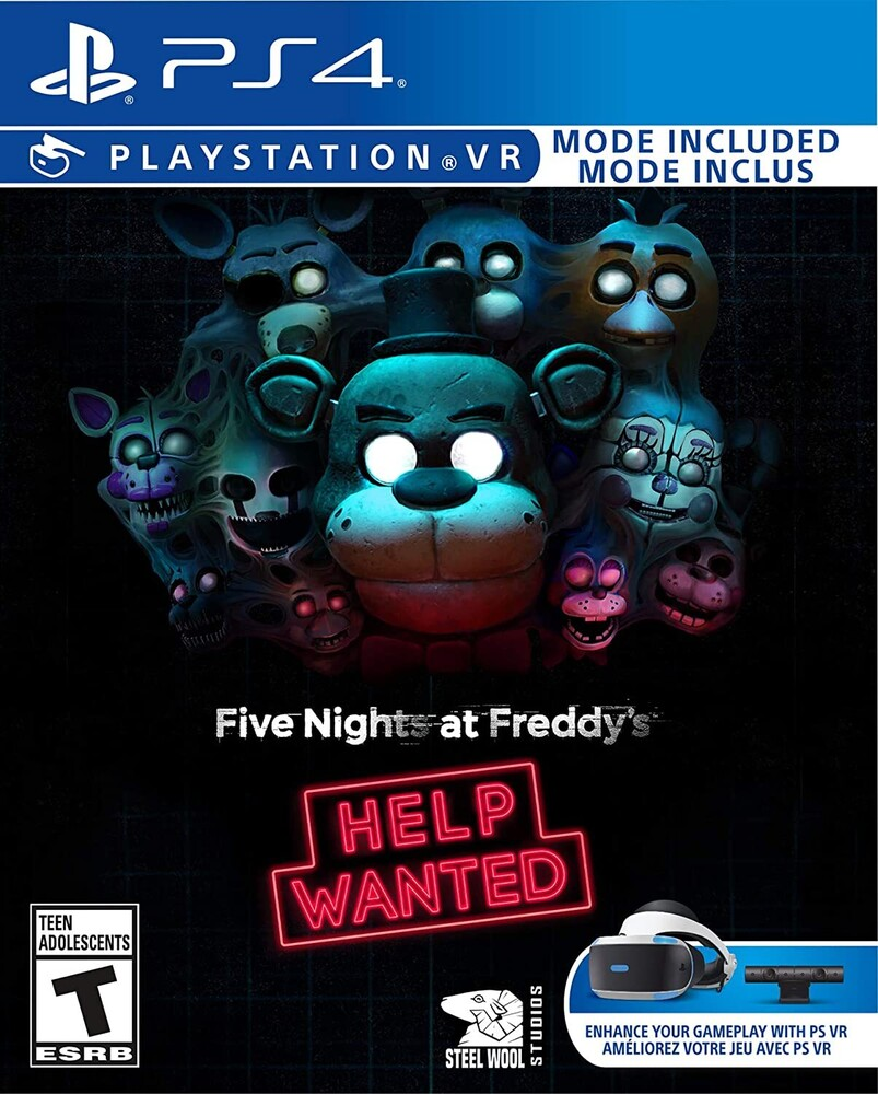 Ps4 5 Nights at Freddy's: Help Wanted - Ps4 5 Nights At Freddy's: Help Wanted