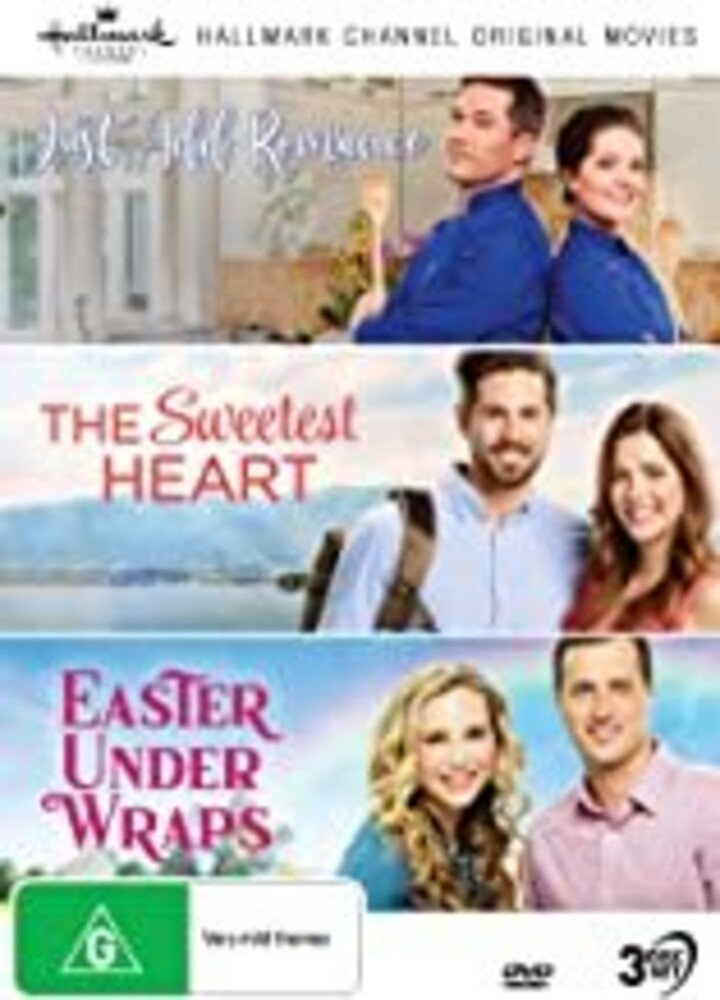 Hallmark Coll 10: Just Add / Sweetest / Easter - Hallmark Collection 10: Just Add Romance / Sweetest Heart / Easter Under Wraps [NTSC/0]