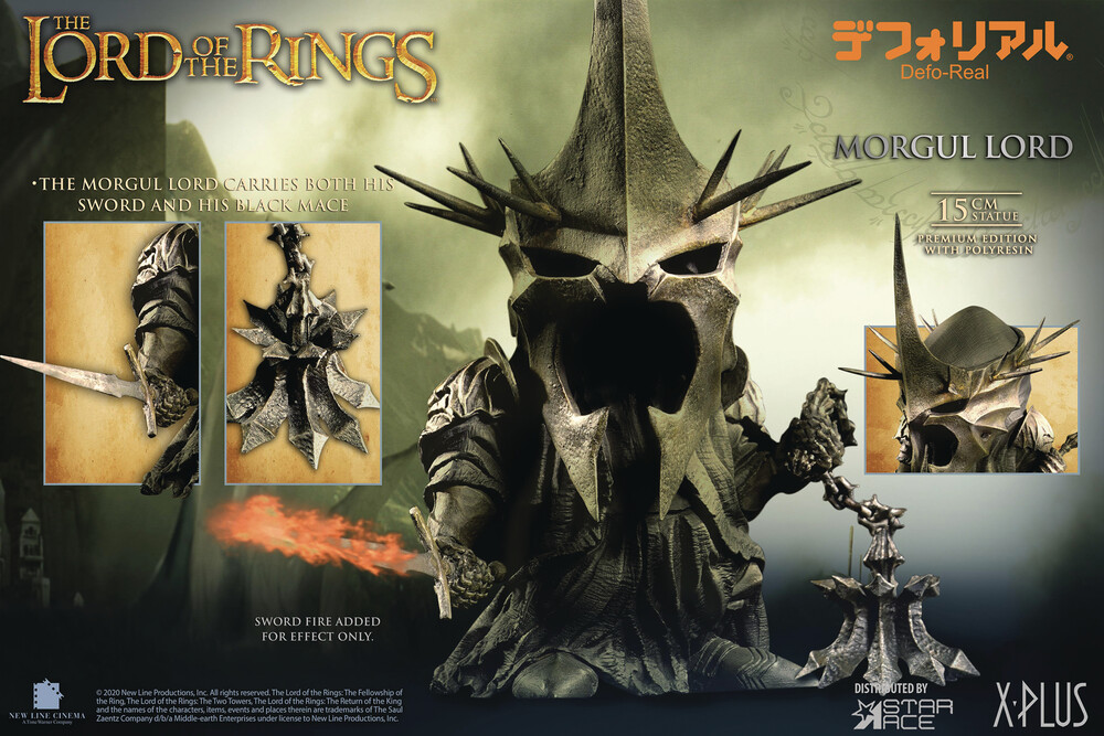 Star Ace Toys - Star Ace Toys - Lord of the Rings Morgul Lord Defo Real LimitedEdition Polyresin Statue (Net)
