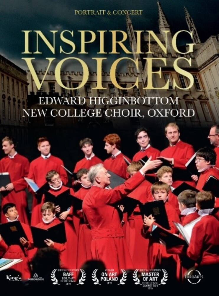 Edward Higginbottom / New College Choir Oxford - Inspiring Voices (W/Dvd)