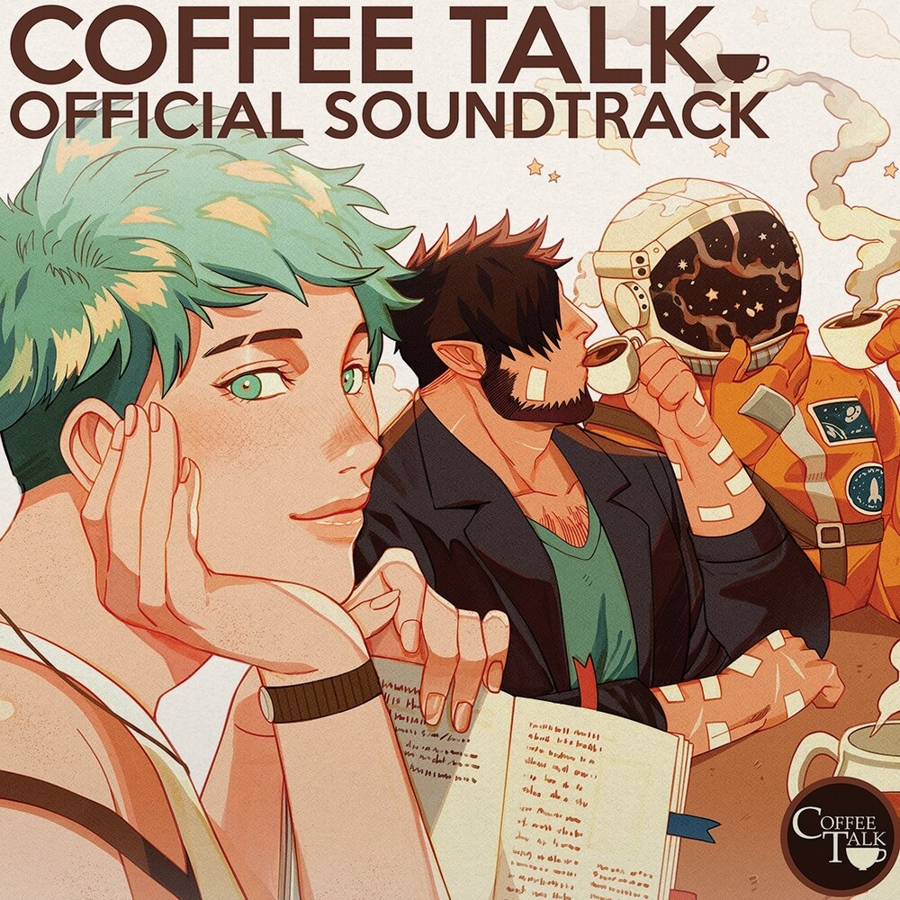 Andrew Jeremy Brwn Grn Ltd Ogv - Coffee Talk / O.S.T. (Green/Coffee Brown Vinyl)