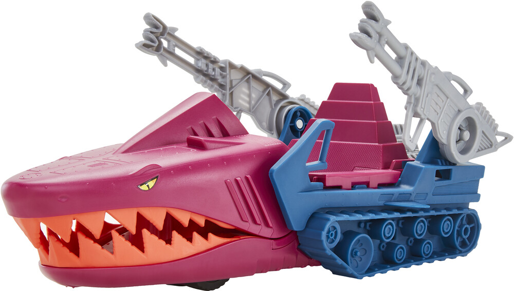 "Masters Of The Universe - Mattel Collectible - Masters of the Universe Origins 5.5"" Land Shark Vehicle (He-Man, MOTU)"