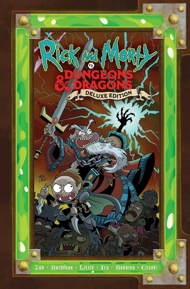 Rothfuss, Patrick / Zub, Jim / Little, Troy - Rick and Morty vs. Dungeons & Dragons: Deluxe Edition