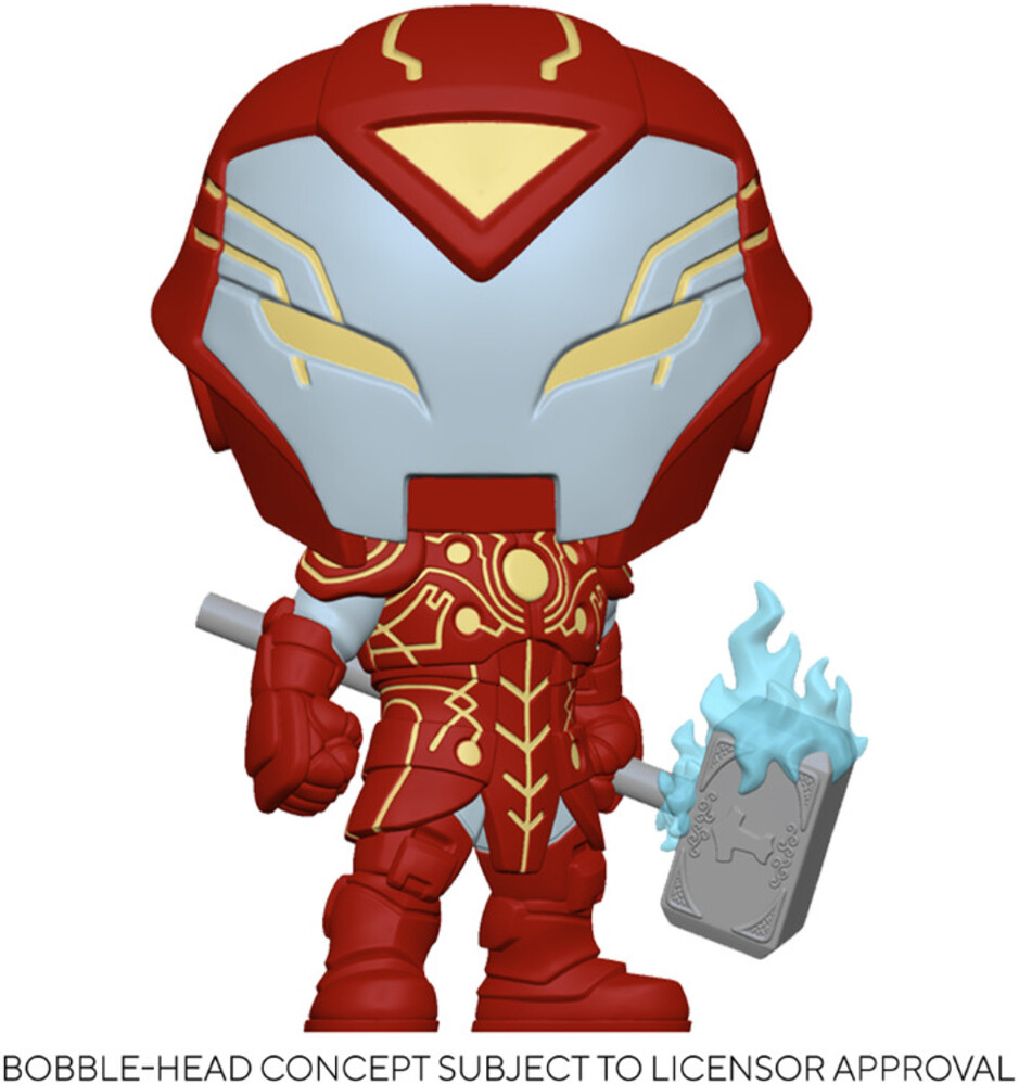 - FUNKO POP! MARVEL: Infinity Warps- Iron Hammer
