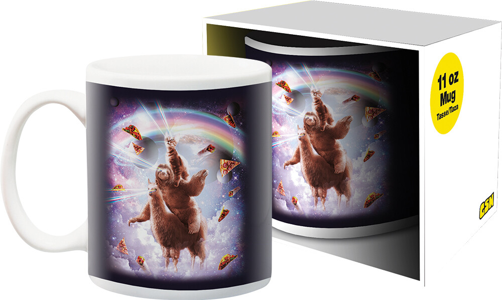 Random Galaxy Cat Sloth Llama 11Oz Boxed Mug - Random Galaxy Cat Sloth Llama 11oz Boxed Mug