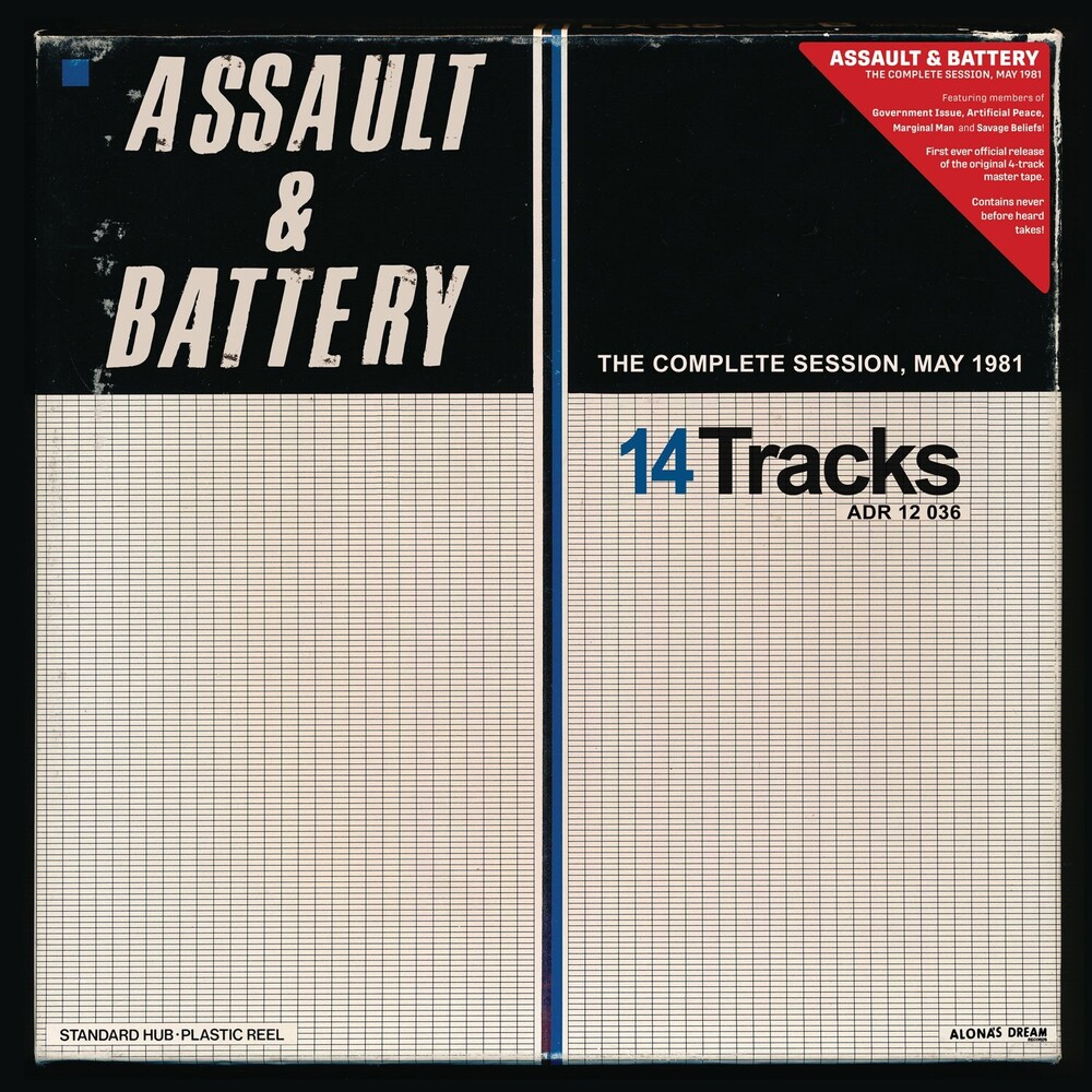 Assault & Battery - Complete Session, May 1981 (Gol) [Limited Edition]