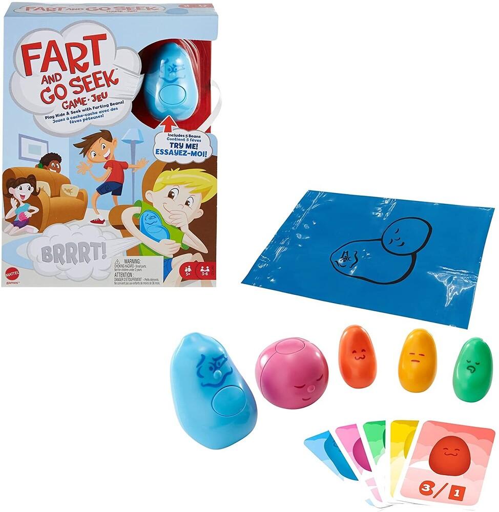- Mattel Games - Fart And Go Seek Game