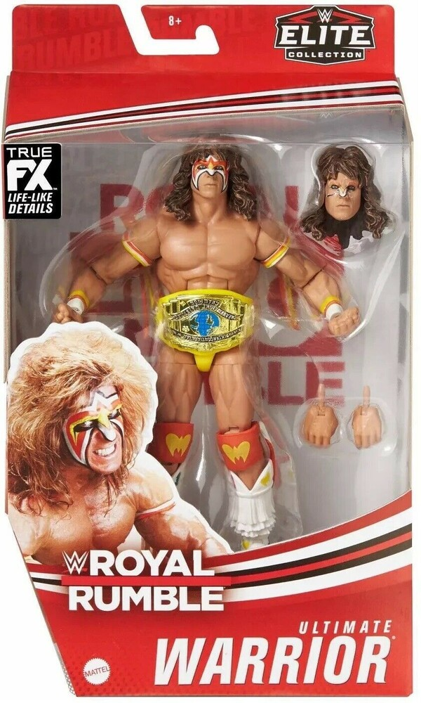 - Mattel Collectible - WWE Elite Figure Ultimate Warrior 1990