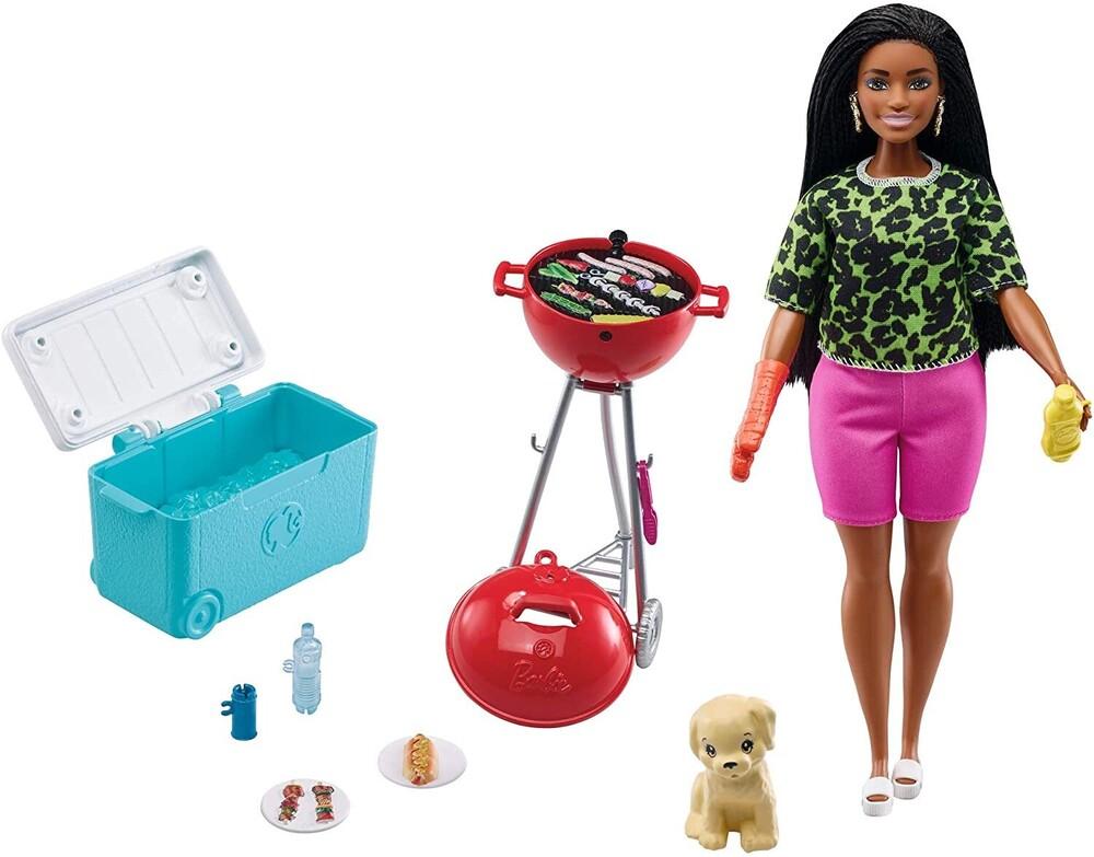 - Mattel - Barbie Bar-B-Que and Pet Mini Playset