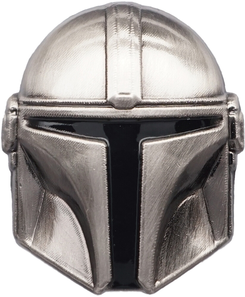 - Star Wars Mandalorian Helmet Pewter Lapel Pin