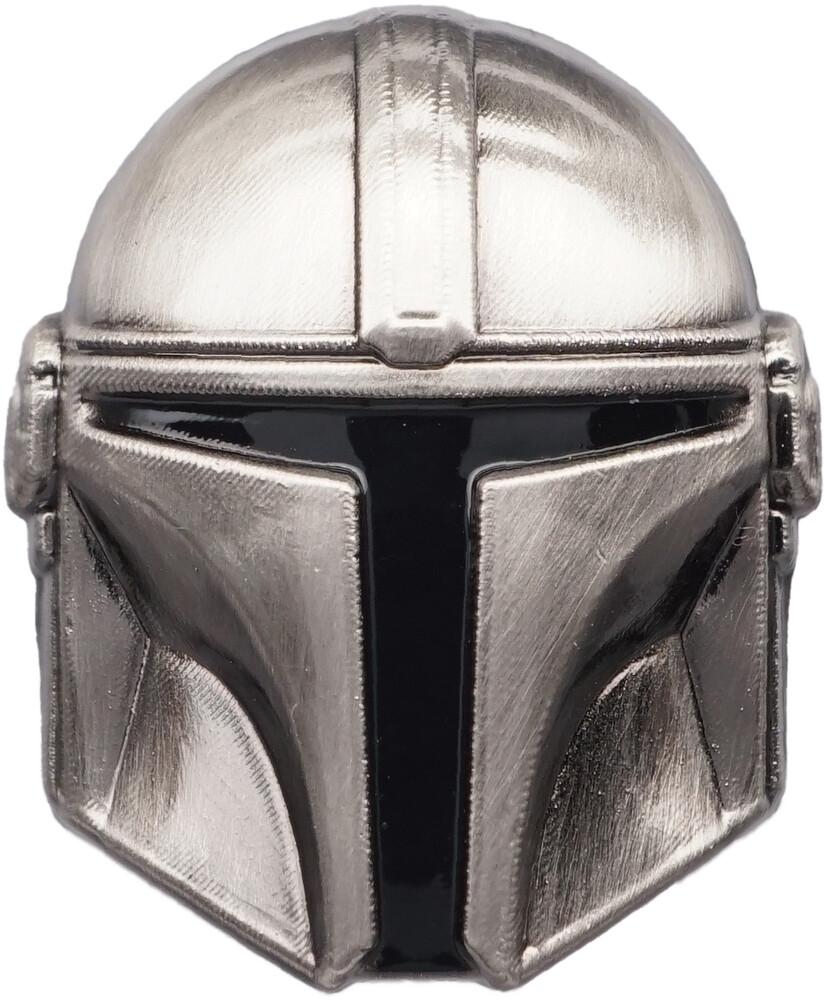 - Star Wars Mandalorian Helmet Pewter Lapel Pin