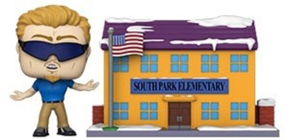 Funko Pop! Town: - South Park- Sp Elementary W/Pc Principal (Vfig)