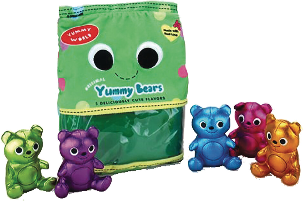 - Yummy World Yummy Bears Large Plush (Plus)