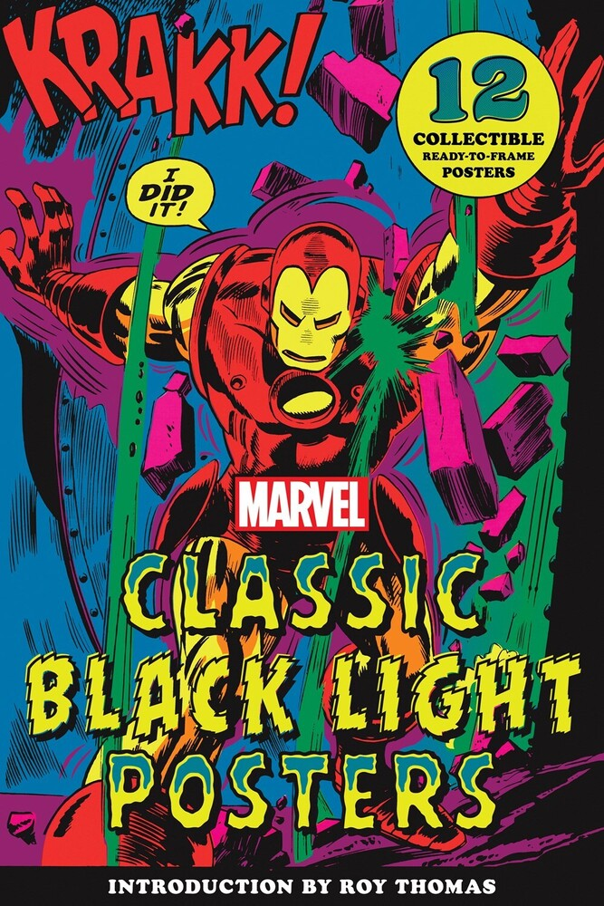 Marvel Entertainment / Roy Thomas - Marvel Classic Black Light Collectible Poster