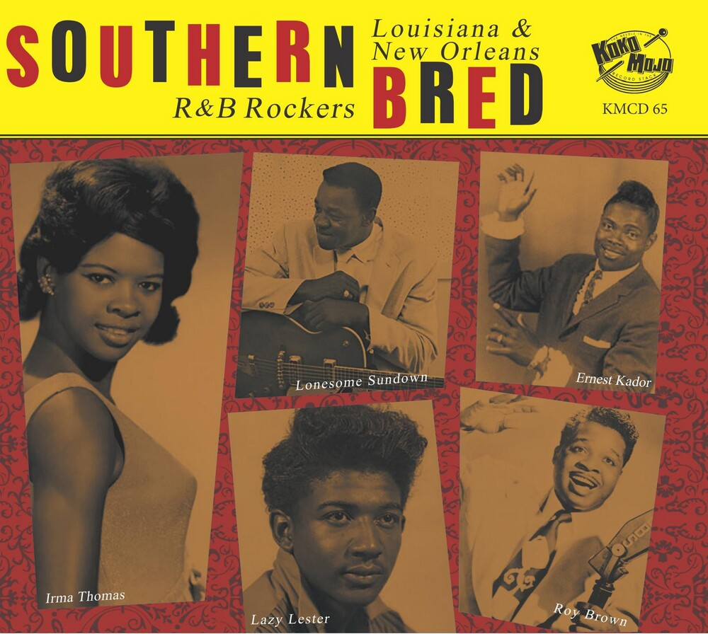 Southern Bred 15 Louisiana New Orleans R&B / Var - Southern Bred 15 Louisiana New Orleans R&B / Var