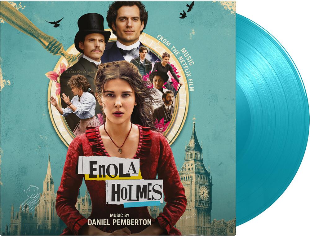 Daniel Pemberton  (Colv) (Ltd) (Ogv) - Enola Holmes / O.S.T. (Solid Turquoise Vinyl)
