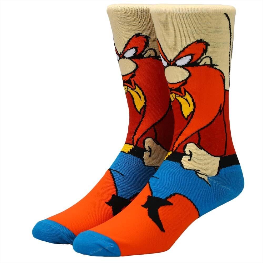 - Looney Tunes Yosemite Sam Crew Socks 8-12 (Mult)