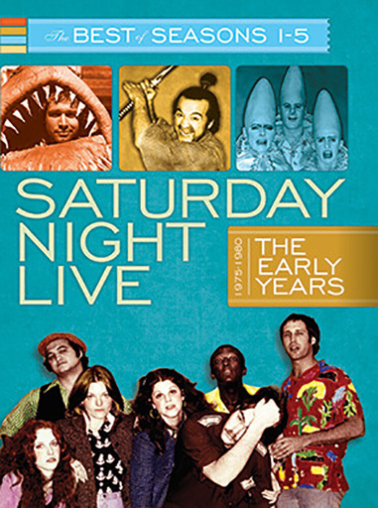Saturday Night Live the Early Years B.O. Ssn 1-5 - Saturday Night Live the Early Years B.O. SSN 1-2