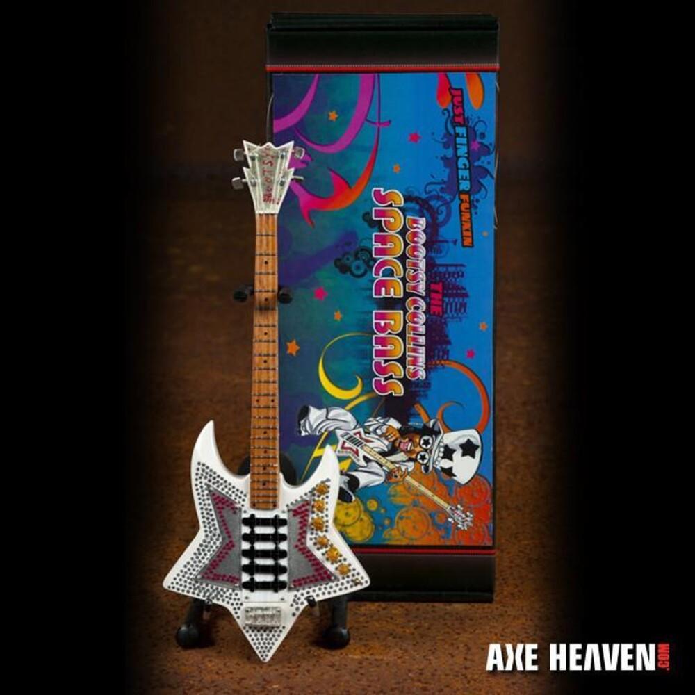 - Bootsy Collins Funkadelic Space Mini Bass Guitar
