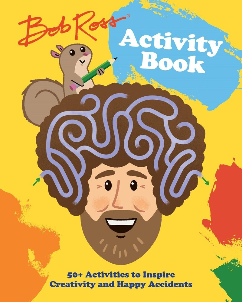 Robb Pearlman  / Kayser,Jason - Bob Ross Activity Book (Ppbk)
