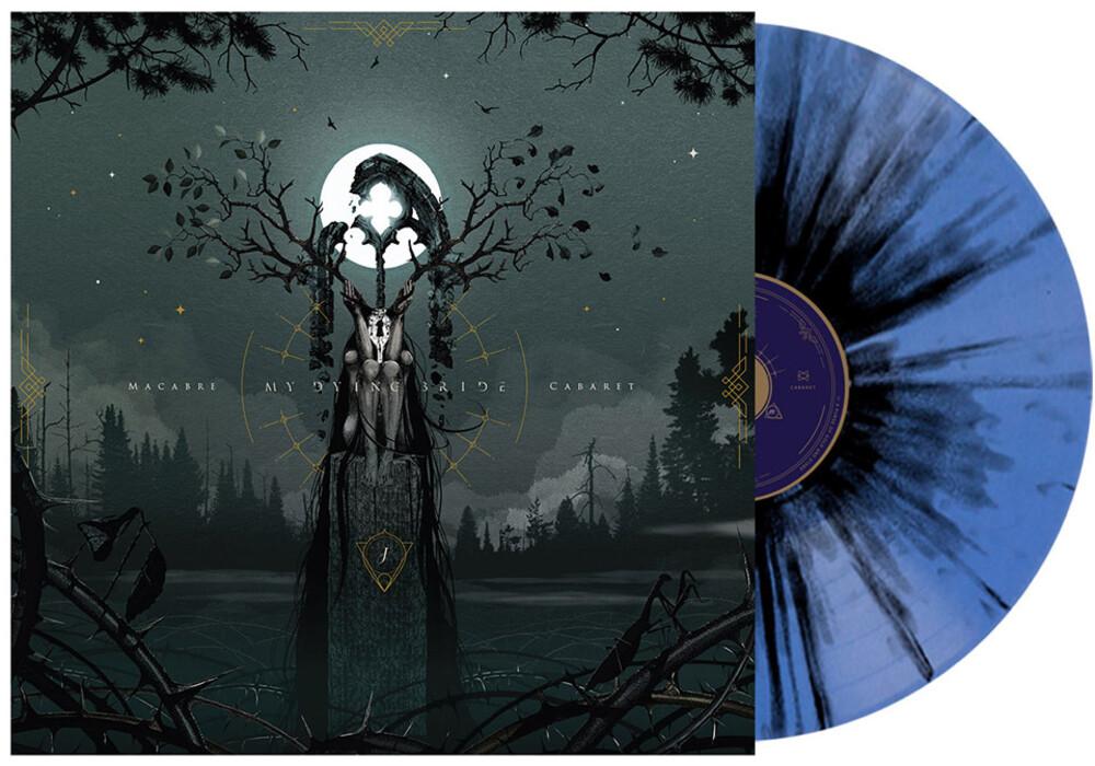 My Dying Bride - Macabre Cabaret (Blue & Black Splatter) (Blk)