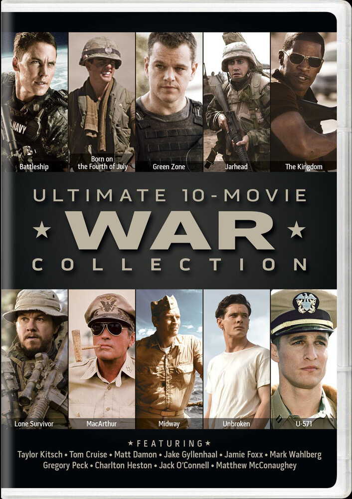 Ultimate 10-Movie War Collection - Ultimate 10-Movie War Collection (10pc) / (Box)