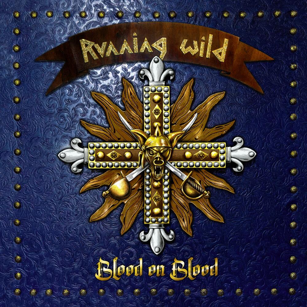Running Wild - Blood On Blood (Blue Vinyl) (Blue) [Colored Vinyl] (Gate)