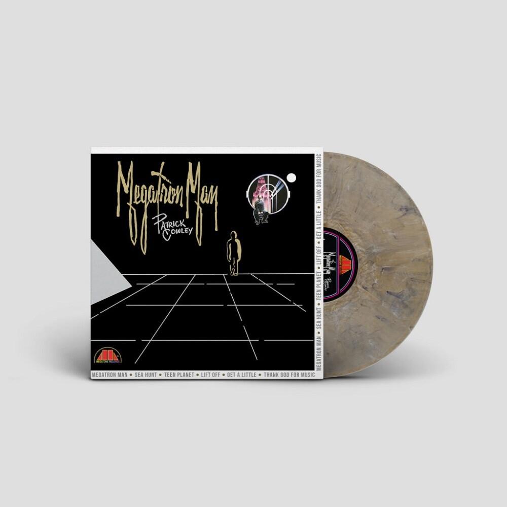 Patrick Cowley - Megatron Man [180-Gram Clear Vinyl With Silver & Gold Swirls]