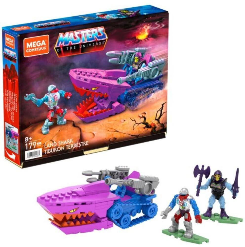 Mega Brands Masters of the Universe - Motu Land Shark (Fig) (Brik)