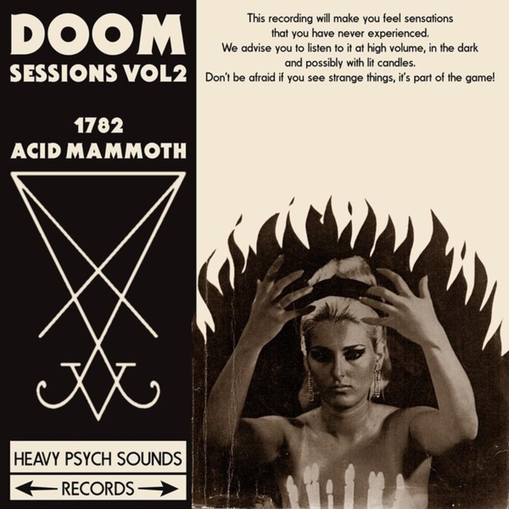 1782 / Acid Mammoth - Doom Sessions Vol. 2 [Limited Neon Magenta Colored Vinyl]