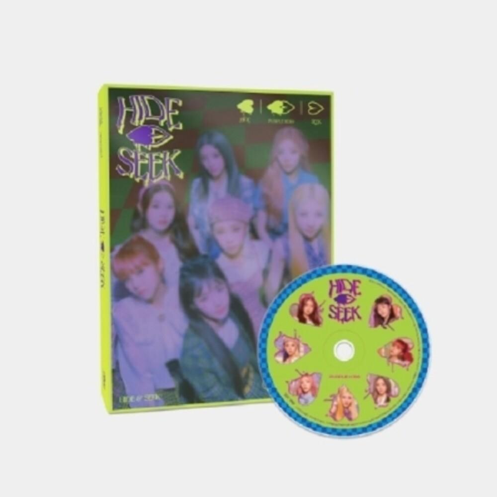 Purple Kiss - Hide & Seek (Hide Version) (incl. 108pg Photobook, Poster, Ticket, Sticker + Photocard)