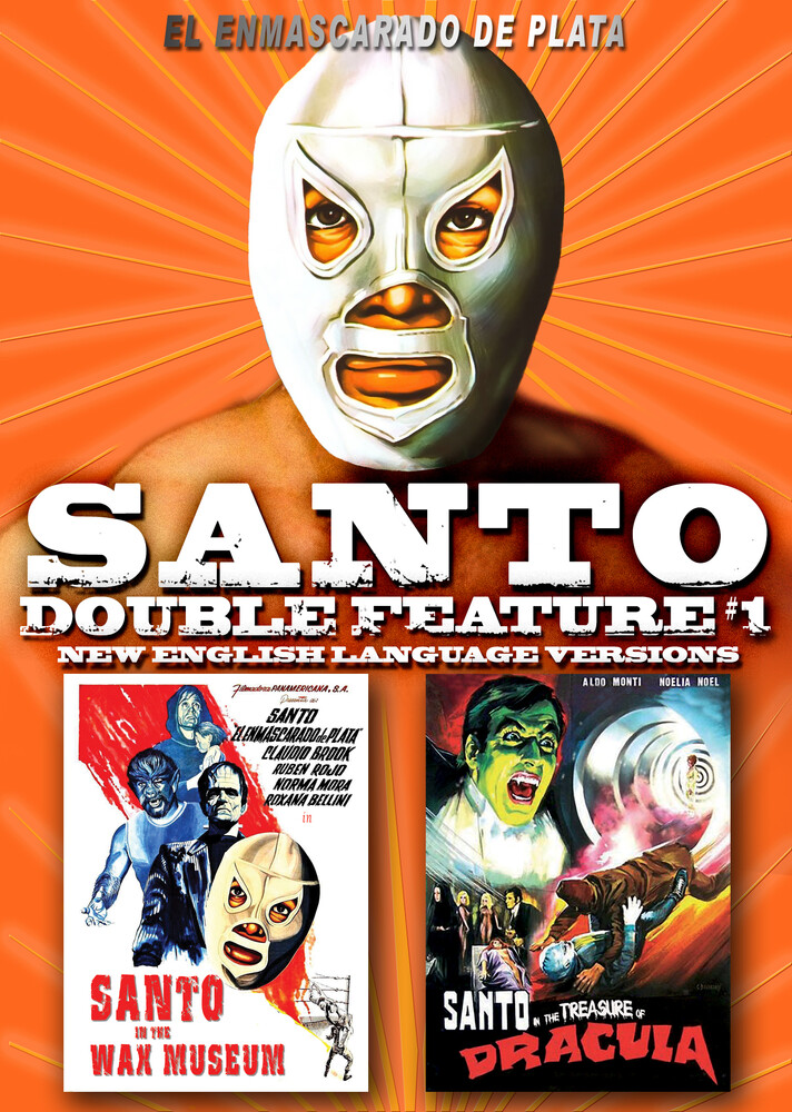 Santo Double Feature: Santo in the Wax Museum - Santo Double Feature: Santo In The Wax Museum / Santo In The Treasure  Of Dracula