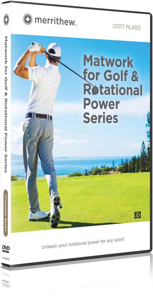 Stott Pilates Matwork for Golf & Rotational Power - STOTT PILATES Matwork For Golf & Rotational Power Series