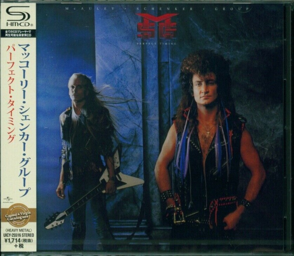 Michael Schenker - Perfect Timing (Jpn) (Shm)
