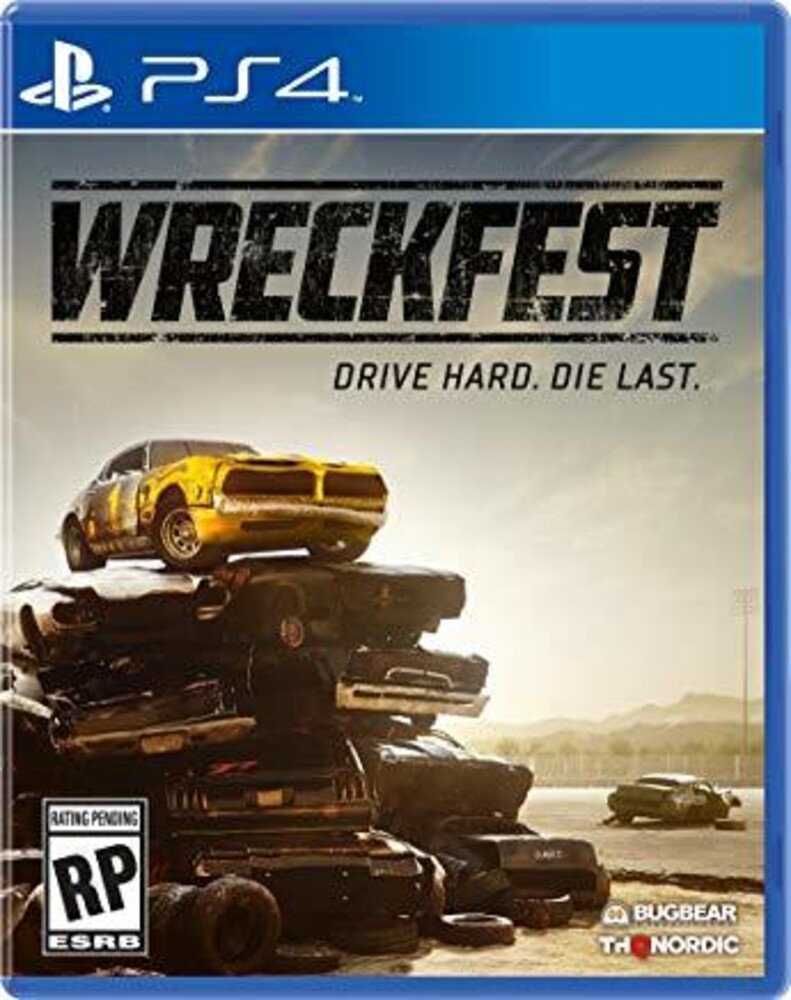 - Wreckfest for PlayStation 4
