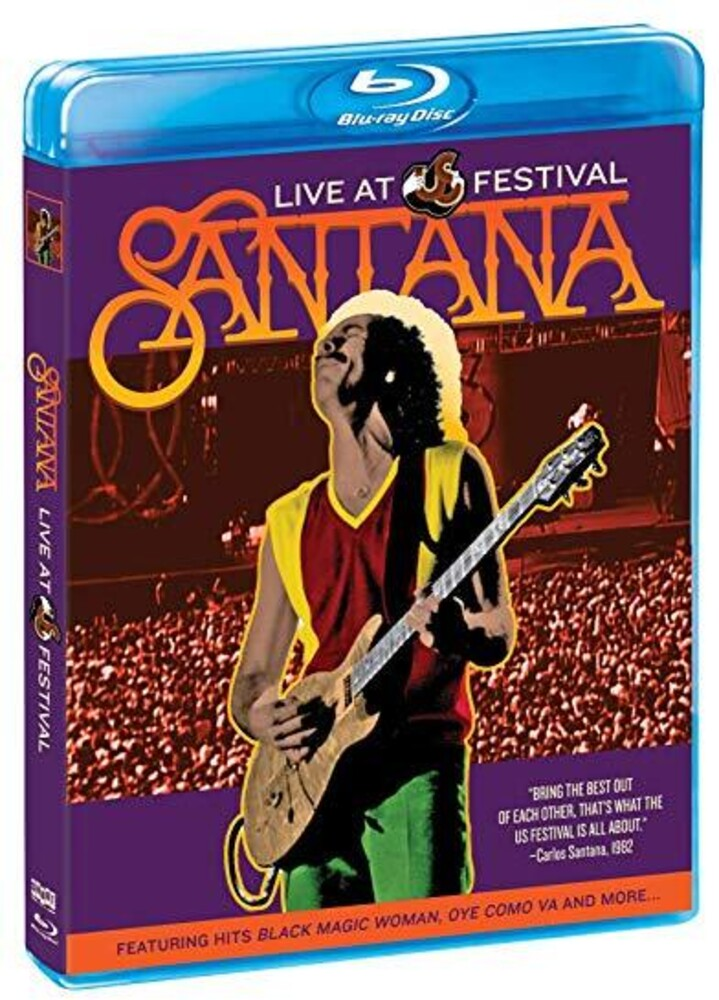 - Santana: Live At The Us Festival