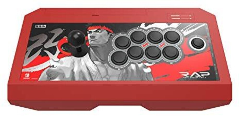 - HORI Real Arcade Pro - Street Fighter Ryu Edition for Nintendo Switch