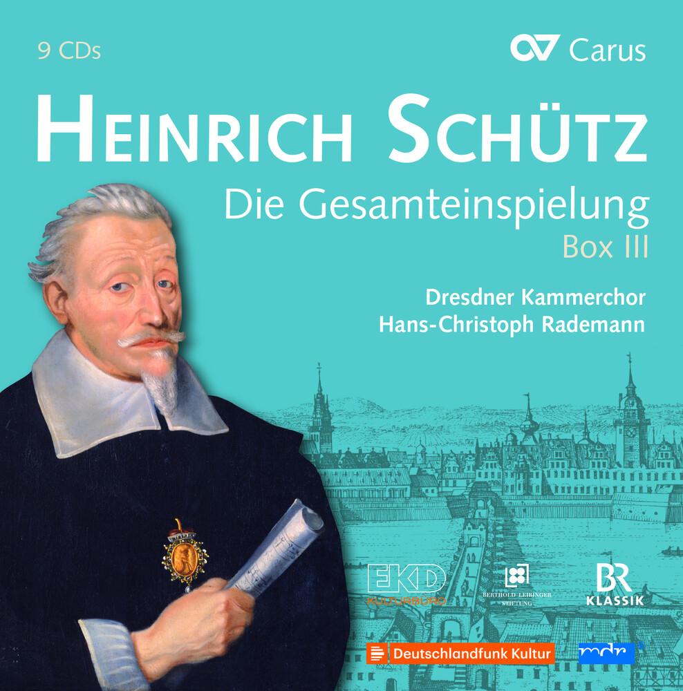 Schutz / Dresdner Kammerchor / Rademann - Complete Recording Box III